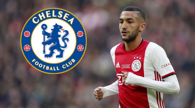 How will Chelsea line up with Hakim Ziyech