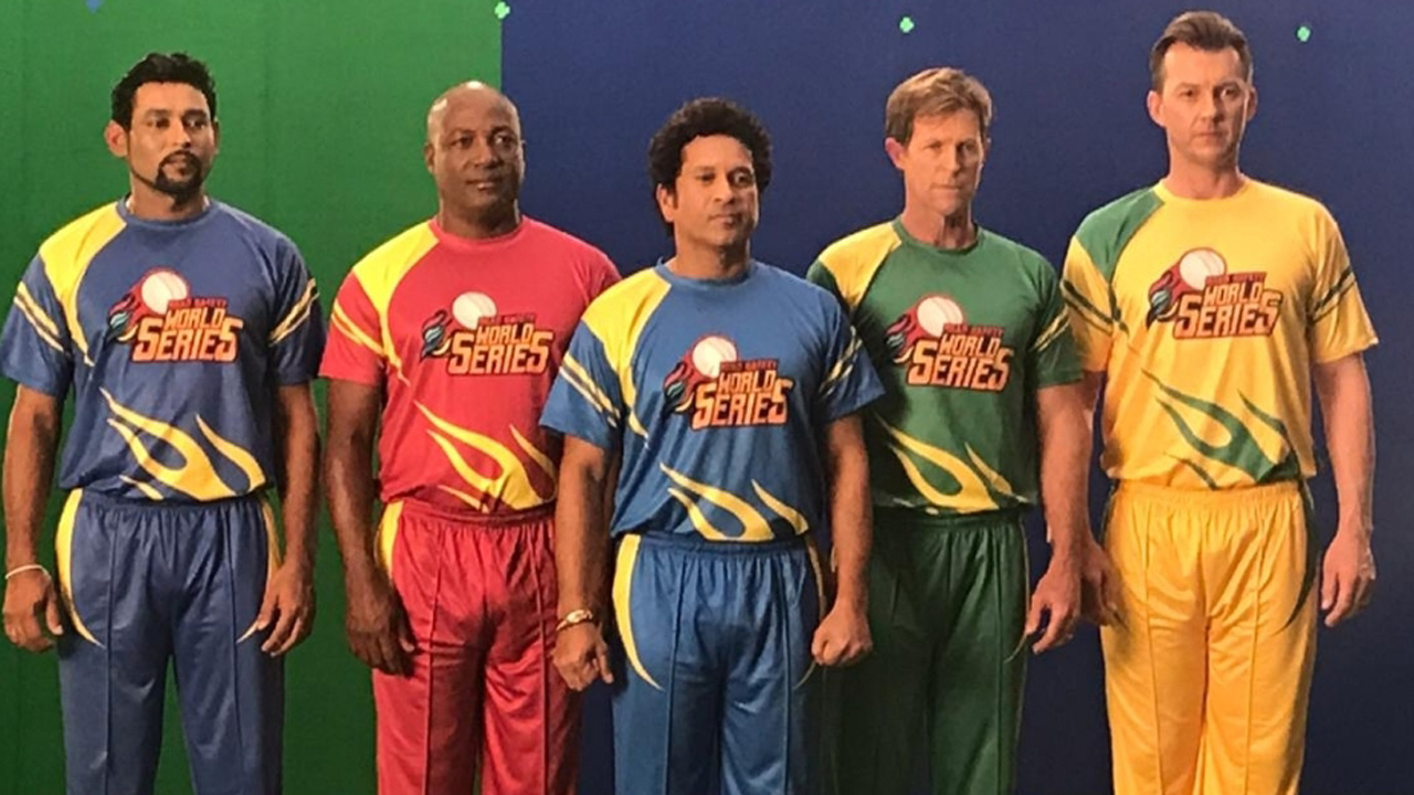 Indian Legends confirm squad for Road Safety World Series
