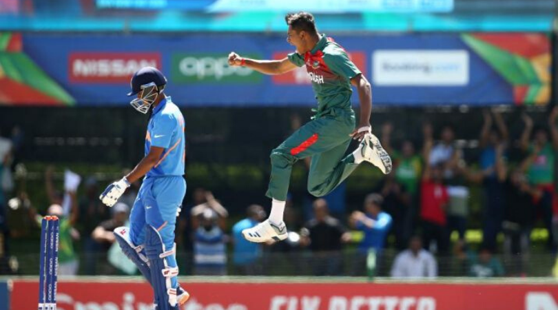 India and Bangladesh players involved in a brawl after ICC U19 World Cup final