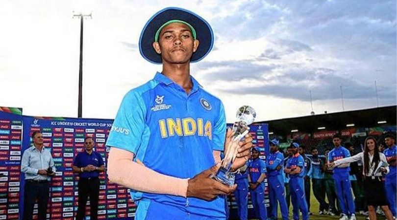 Reports: Yashasvi Jaiswal's Man of the Tournament trophy ruptures into two pieces