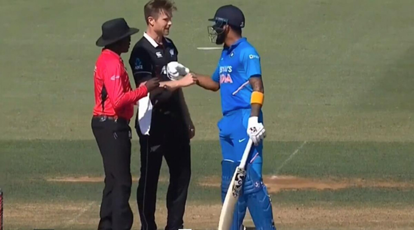 James Neesham gives hilarious advice to his KXIP skipper KL Rahul after NZ vs Ind