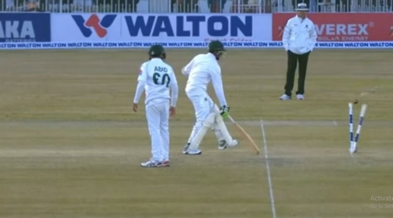 Abu Jayed run-out vs Pakistan: Watch Mohammad Abbas runs out 'sloppy' Bangladeshi seamer in Rawalpindi Test