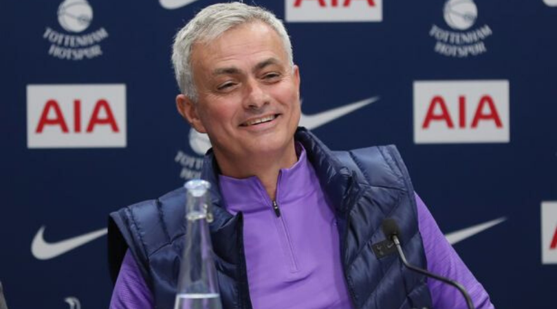Jose Mourinho takes a subtle dig at Manchester United regarding top 4 race