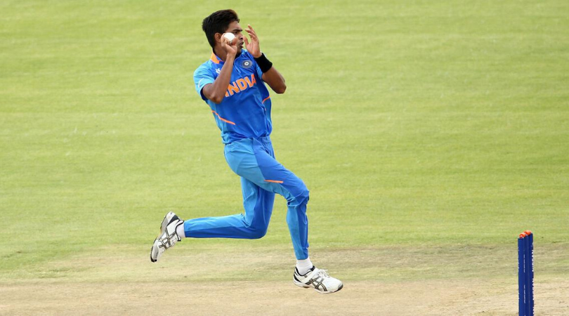 Kartik Tyagi produces perfect yorker to uproot Irfan Khan's stumps during U19 World Cup semi-final