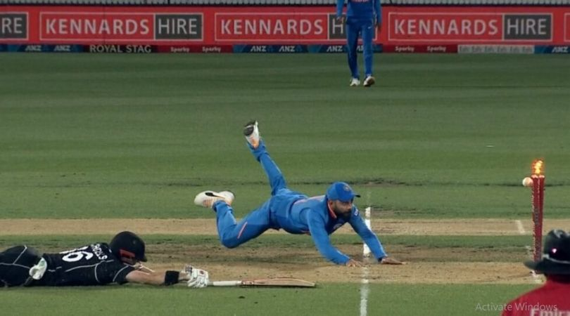 WATCH: Virat Kohli affects dazzling run-out to dismiss Henry Nicholls in Hamilton ODI