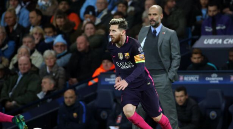 Lionel Messi News Manchester City social media hints at the possibility of singing Barcelona Superstar
