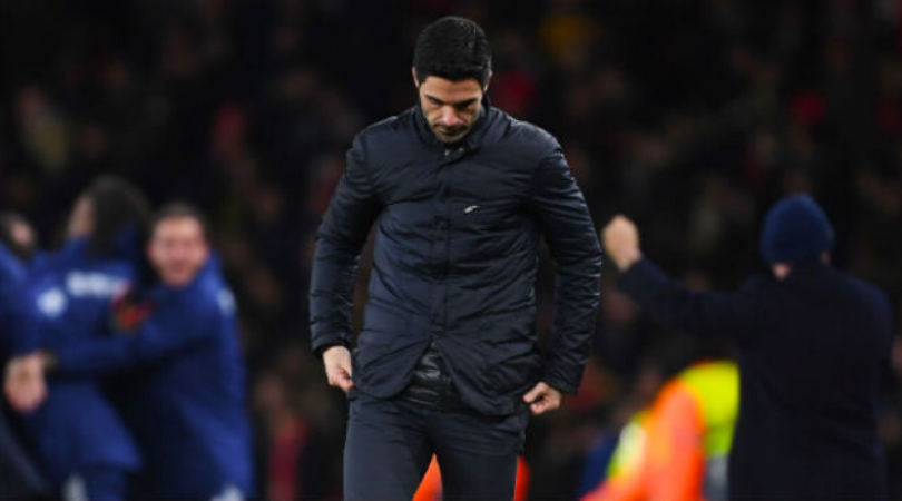 Mikel Arteta makes brutal top 4 admission after Arsenal's loss to Olympiakos in the Europa League