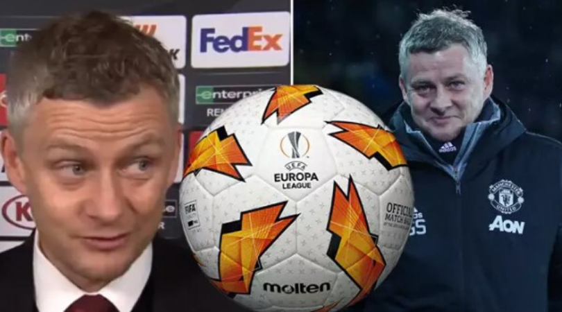 ole gunnar solskjaer blames the europa league ball for man utd s draw with club brugge the sportsrush ole gunnar solskjaer blames the europa