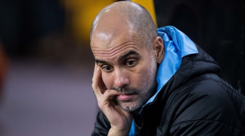 Pep Guardiola admits he could be sacked at Manchester City