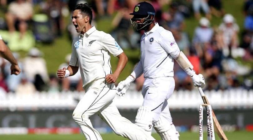 WATCH: Cheteshwar Pujara shoulder arms off Trent Boult delivery to register misjudged dismissal in Wellington Test