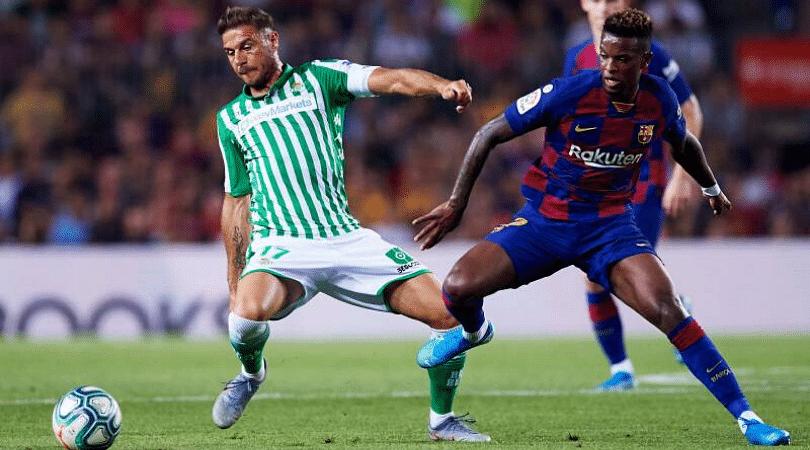 RB Vs BAR Dream 11 Prediction Real Betis Vs Barcelona Best Dream 11 Team for La Liga 2019-20