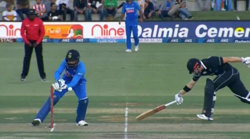 WATCH: KL Rahul misses simple run-out to dismiss Henry Nicholls in third ODI