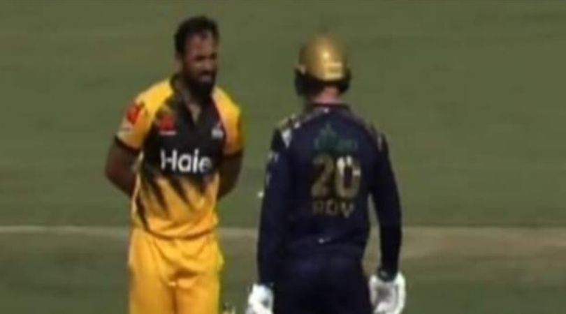 WATCH: Jason Roy and Wahab Riaz at loggerheads after Roy reportedly accuses Riaz of ball tampering in PSL 2020