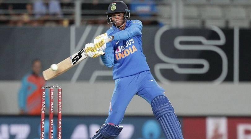WATCH: Navdeep Saini smacks Kyle Jamieson for incredible six on the off-side in Auckland ODI