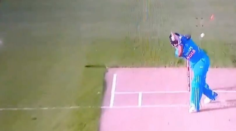 Prithvi Shaw dismissal vs New Zealand: Watch debutant Kyle Jamieson gets the better of Indian opener in Auckland ODI