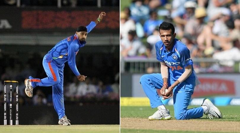 Harbhajan Singh bats for Yuzvendra Chahal playing the second ODI vs New Zealand