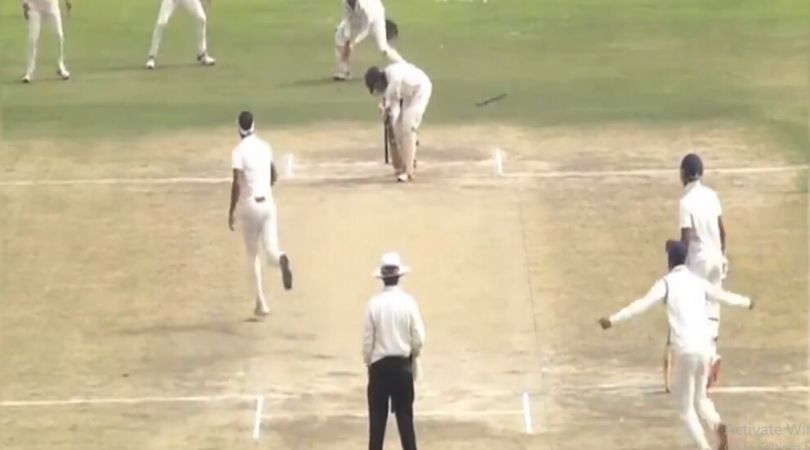 WATCH: Siddarth Kaul registers fantastic hat-trick vs Andhra in Ranji Trophy