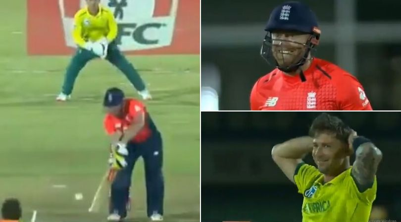 WATCH: Dale Steyn dupes Jonny Bairstow with slower delivery in East London T20I
