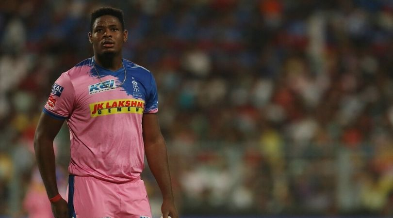 West Indies and Rajasthan Royals pacer Oshane Thomas injured in car accident