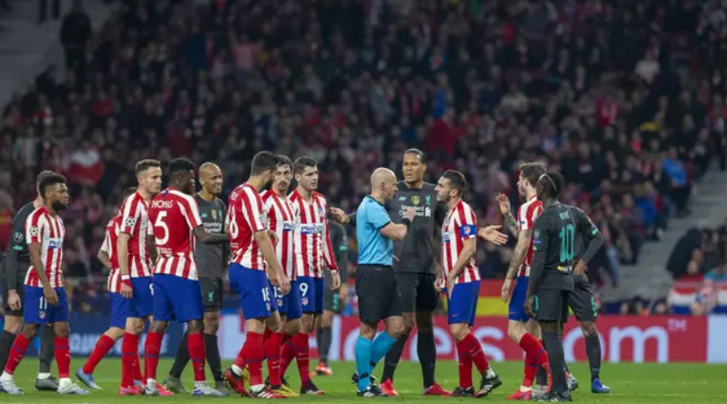 Twitter thread detailing all refereeing errors against Liverpool vs Atletico Madrid goes viral