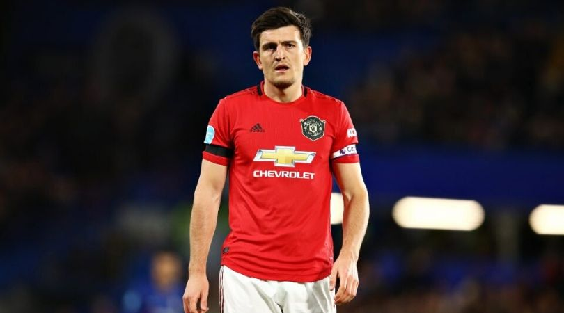 Harry Maguire claims to be innocent, calls kick to Michy Batshuayi 'natural reaction'