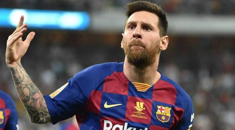 Lionel Messi thrashes Eibar with hattrick in 40 minutes