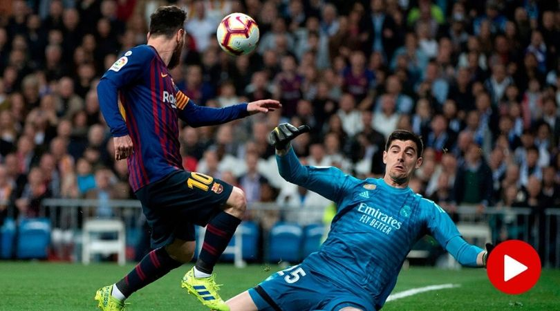 Barcelona makes response to comment made by Thibaut Courtois on Lionel Messi