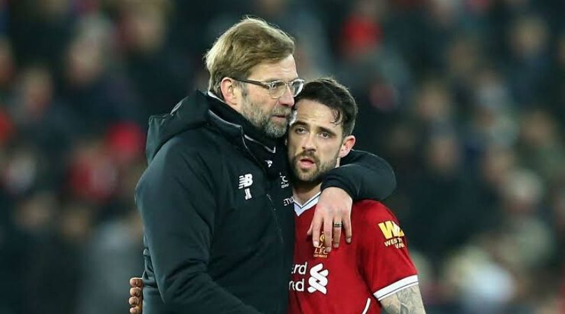 Liverpool players and Jurgen Klopp lauds Danny Ings as a hero after Premier League game