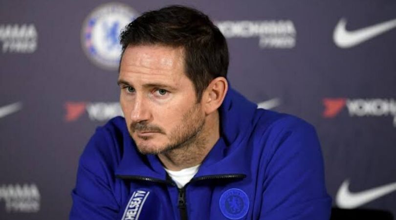 Chelsea News: Frank Lampard claims his team is underdog because of lack of signings