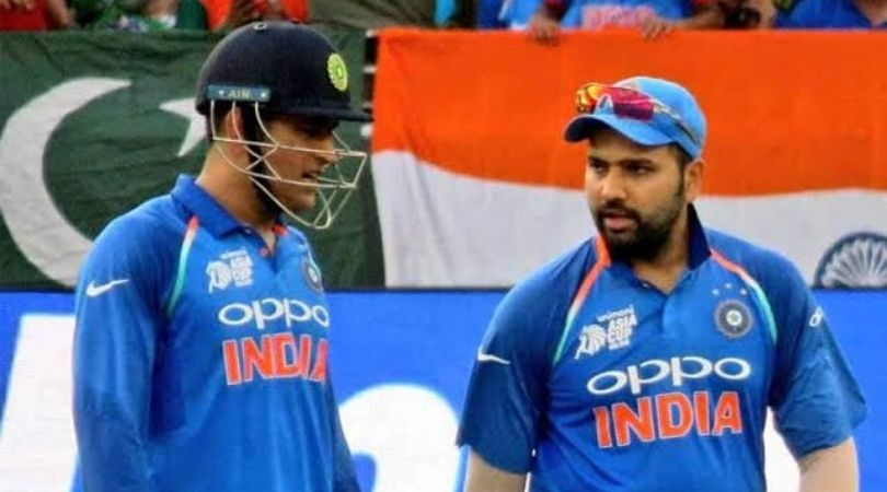Watch: Rohit Sharma gives huge honour to MS Dhoni by calling him India's best ever captain