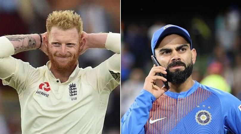 Ben Stokes drops witty reply on social media to pick on India's skipper Virat Kohli