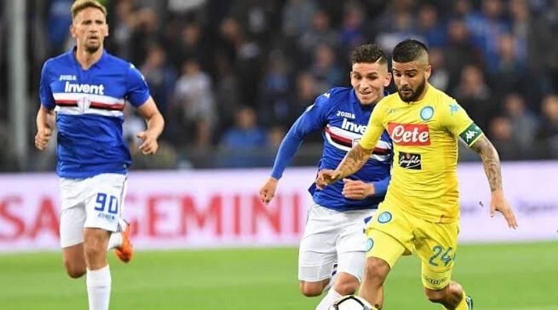 SAM Vs NAP Dream11 Prediction : Sampdoria Vs Napoli Best Dream11 Team For Serie A 2019/20 Match