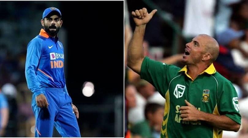 Herschelle Gibbs names Virat Kohlis as his all time favourite Indian cricketer