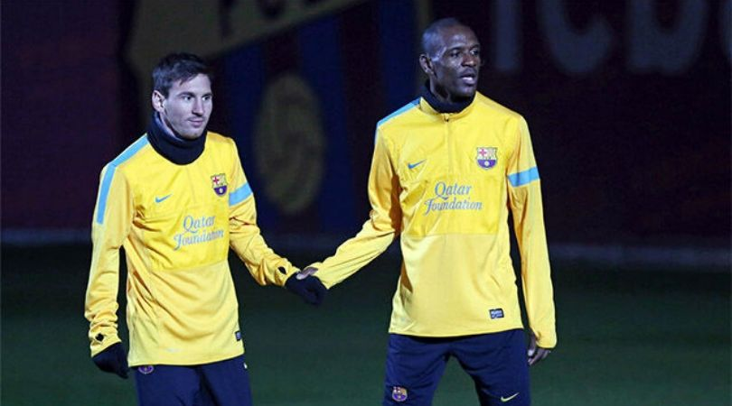 Lionel Messi takes on Eric Abidal on social media after Barcelona's sporting director passes statements