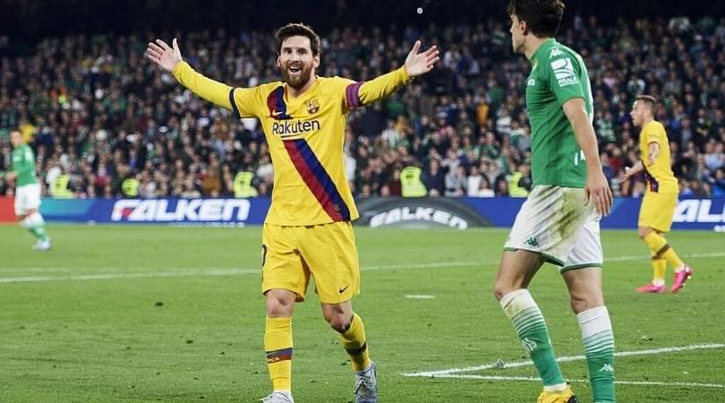 Lionel Messi provides sensational assist against Real Betis