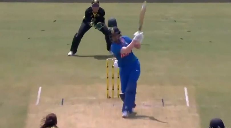 Shafali Verma's Torches Her Way Down The Ground To Clobber An Expansive Six