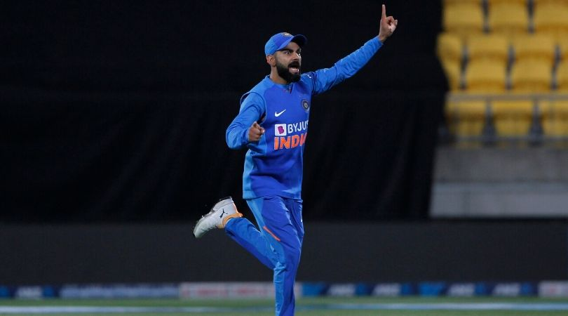 Why is Virat Kohli not playing today's fifth T20I between New Zealand and India in Mount Maunganui?