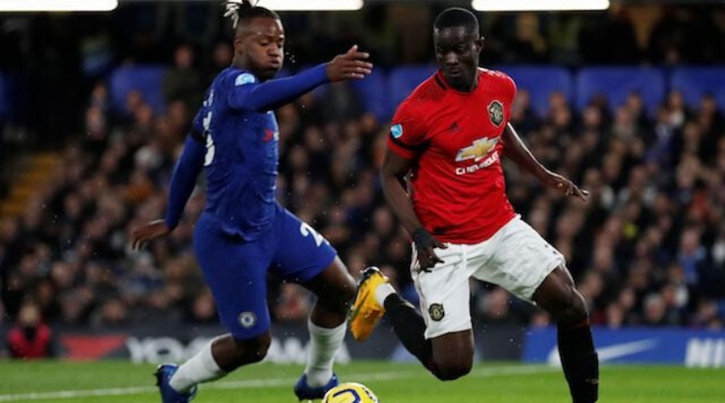 Watch Eric Bailey turns Michy Batshuayi inside his own box during Chelsea vs Manchester United
