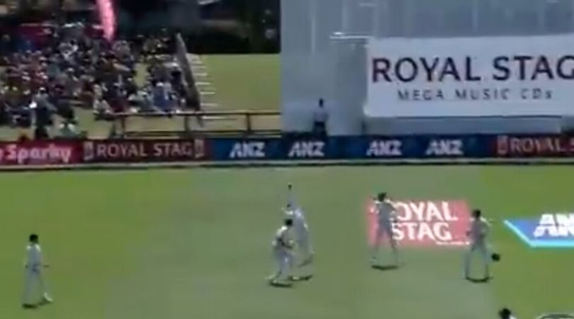 WATCH: Tom Latham grabs breathtaking catch to dismiss Prithvi Shaw in Christchurch Test