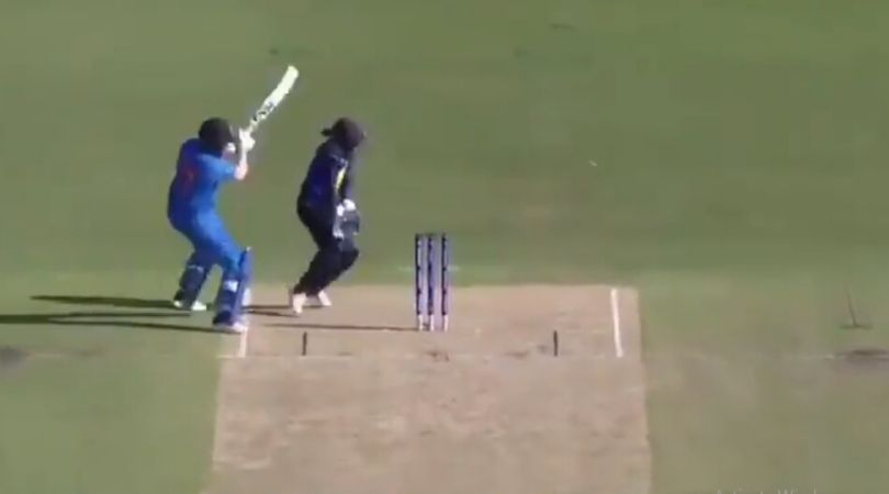 WATCH: Shafali Verma hits boundary from behind the stumps vs Sri Lanka in Women's T20 World Cup 2020
