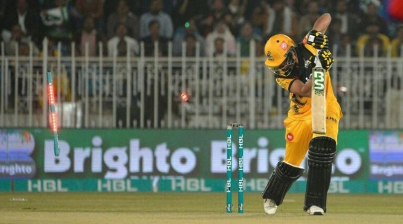 WATCH: Mohammad Amir castles Haider Ali with a peach of a delivery in PSL 2020