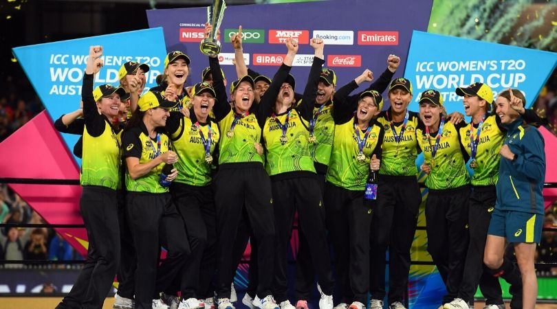 Who was named the Player of the Series in the ICC Women's T20 World Cup 2020?