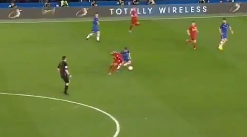 Billy Gilmour stunned Fabinho with a filthy nutmeg during Chelsea vs Liverpool