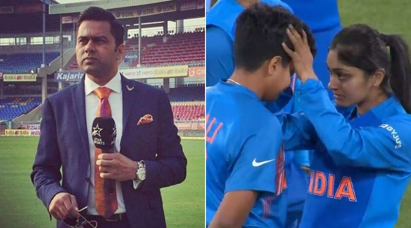 Aakash Chopra slams fan who compares India's loss in Women's T20 World Cup to 2017 Champions Trophy