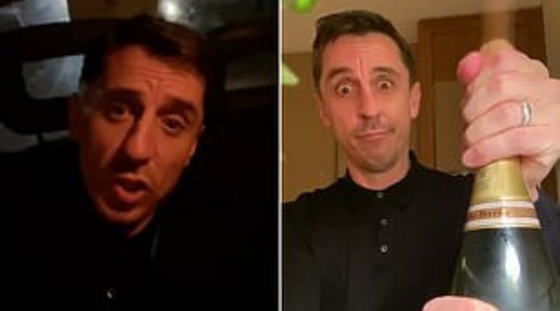 Gary Neville's tweet after Liverpool's shock loss to Watford goes viral