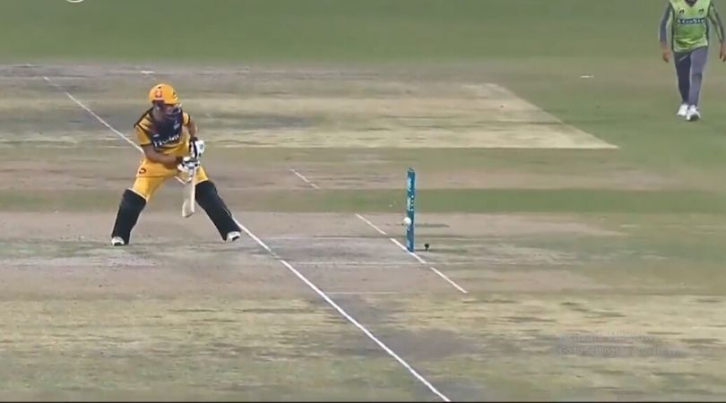 WATCH: Haider Ali receives massive reprieve as bails don't fall despite ball hitting the stumps in PSL 2020