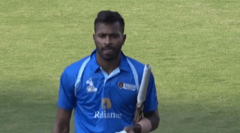 Hardik Pandya score today