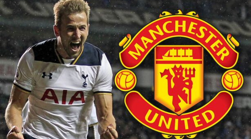 Harry Kane keen on a potential move to Manchester United