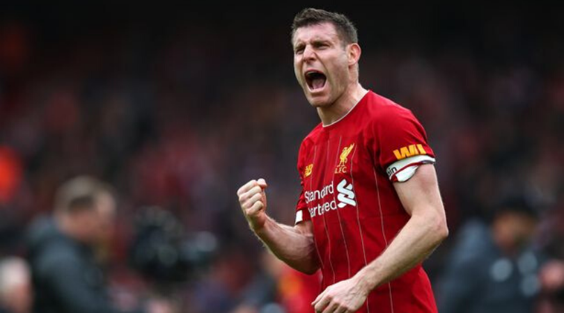 James Milner gave his Liverpool teammates a rallying cry ahead of their Bournemouth clash