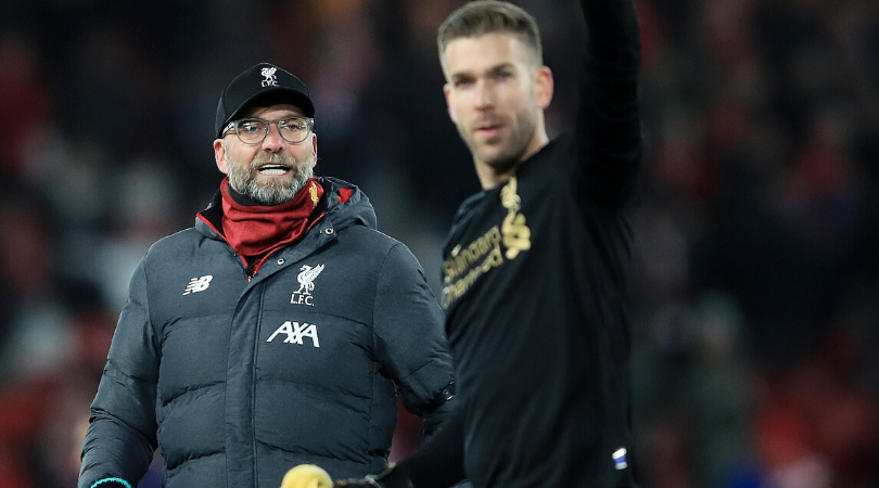 Jurgen Klopp blames FA Cup ball for Adrian's howler during Liverpool's loss to Chelsea